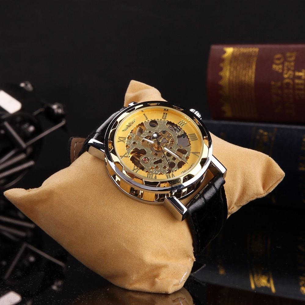 взгляд, шарм часы winner skeleton gold купить также можете